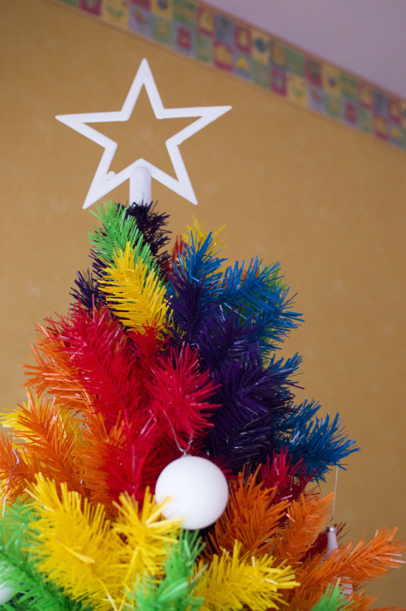 How To Rock A Colourful Christmas Tree Why We Have Three This