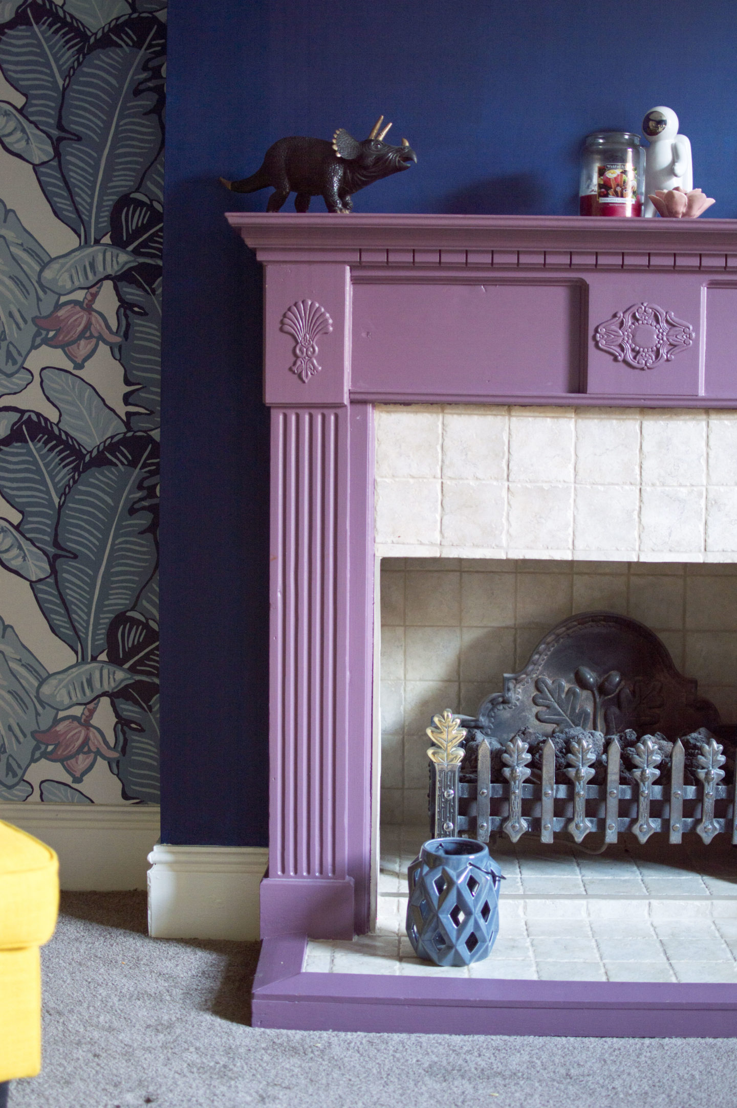 How To Paint A Fireplace Surround Well I Guess This Is Growing Up