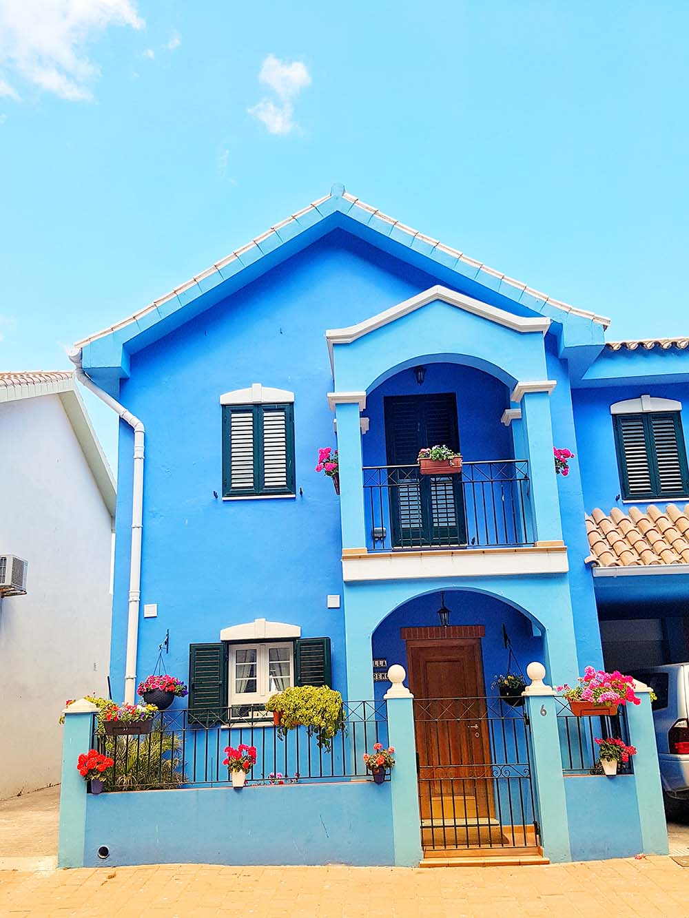 The Coloured House.The Colourful Street Phenomenom Are The Uk Too Scared To