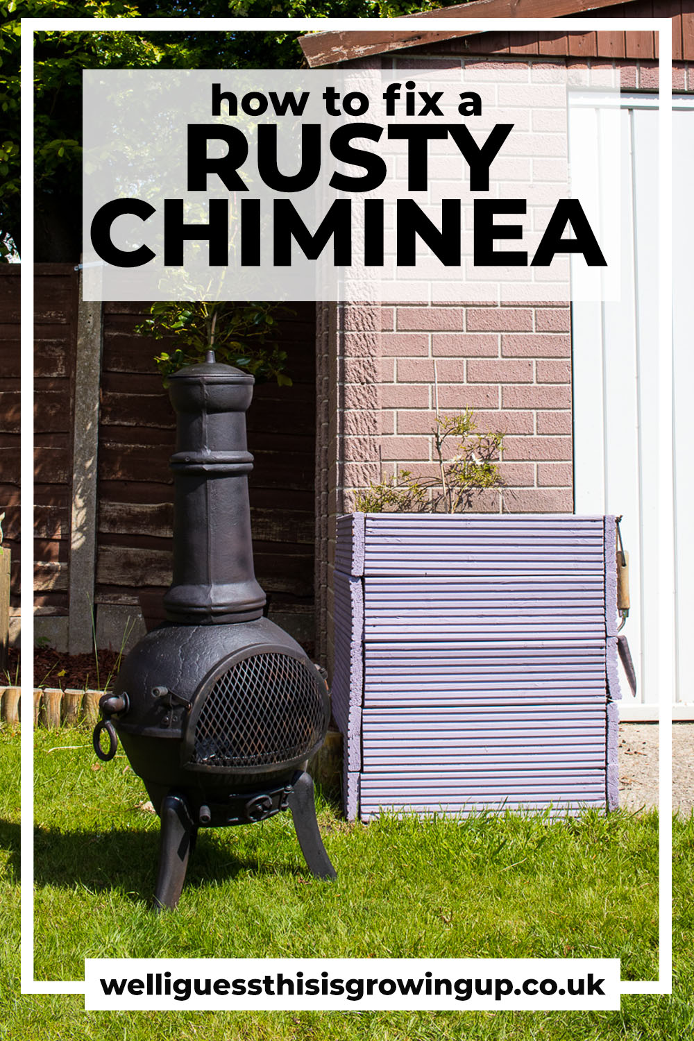 How To Treat A Rusty Chiminea Well I Guess This Is Growing Up